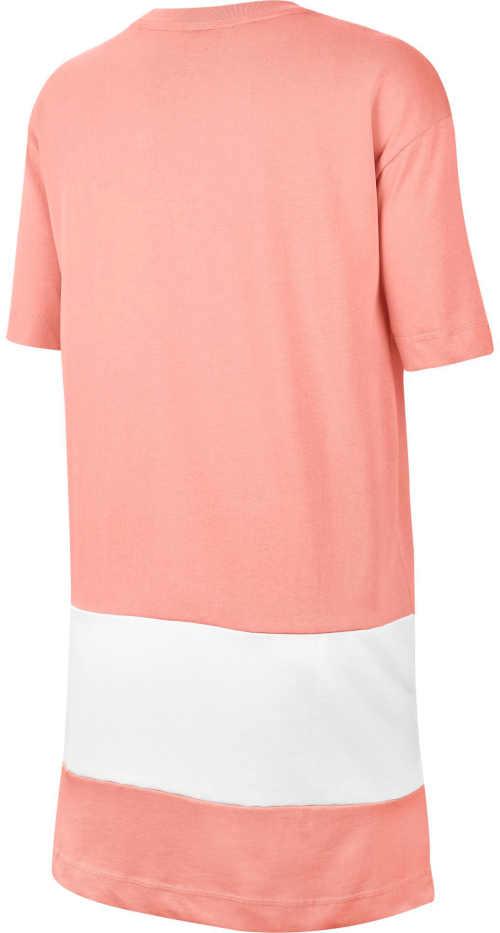 Bielo-ružové športové šaty Nike