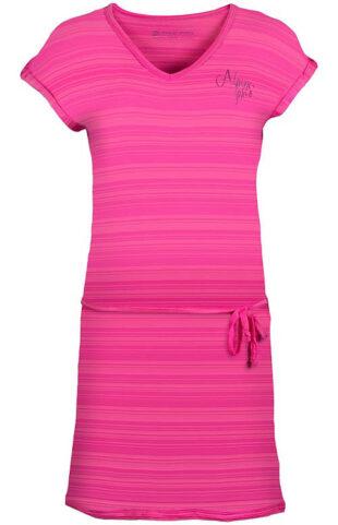 Ružové výpredajové športové šaty Alpine Pro