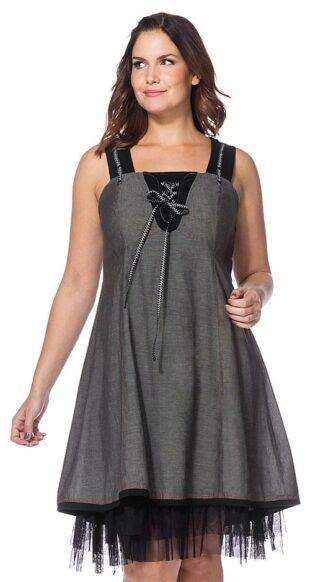 Vymazlené šaty Joe Browns so šnurovaním a špeciálnou podšívkou