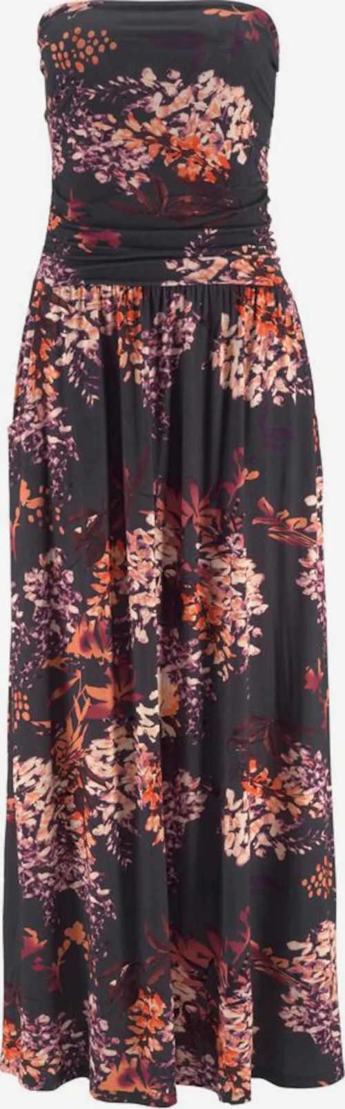 Dlhé bandeau dámske šaty na leto