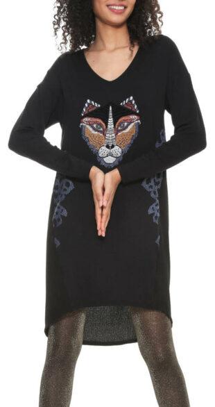 Šaty Desigual z kolekcie We are Animals
