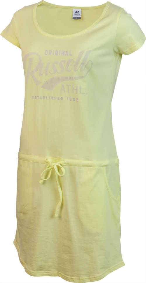 Žlté letné šaty Russell Athletic