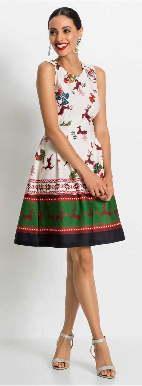 Šaty na vianočný večierok