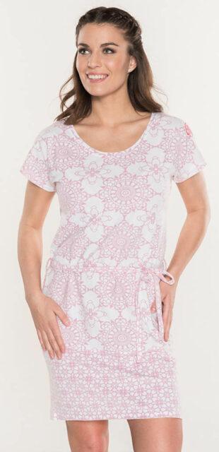 Vzdušné šaty s jemným mandala štýlom