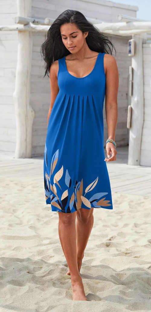 Dámske krátke voľné letné šaty