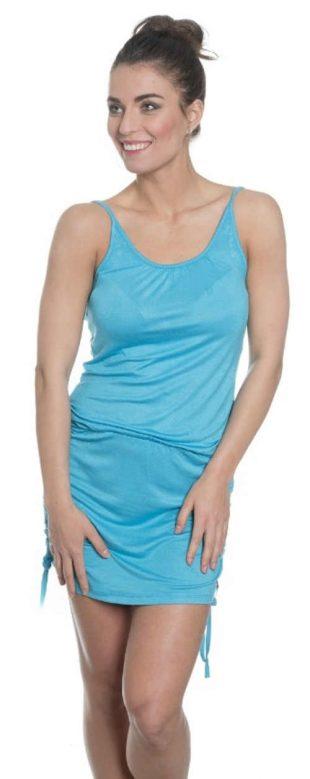 Tyrkysové letné šaty SAM 73